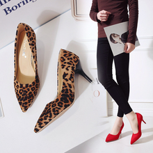 New 8cm Black Pointed High Heels Stiletto Shallow Mouth Wild Women's Single Shoes Professional Work Shoes 2018 new sexy comfortable wild thick with single shoes pointed straps high heels shallow mouth fashion wild high heels