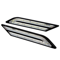 DRL Super Bright Universal 33 LEDs Car Daytime Running Lights DC 12V Car Styling DRL Car