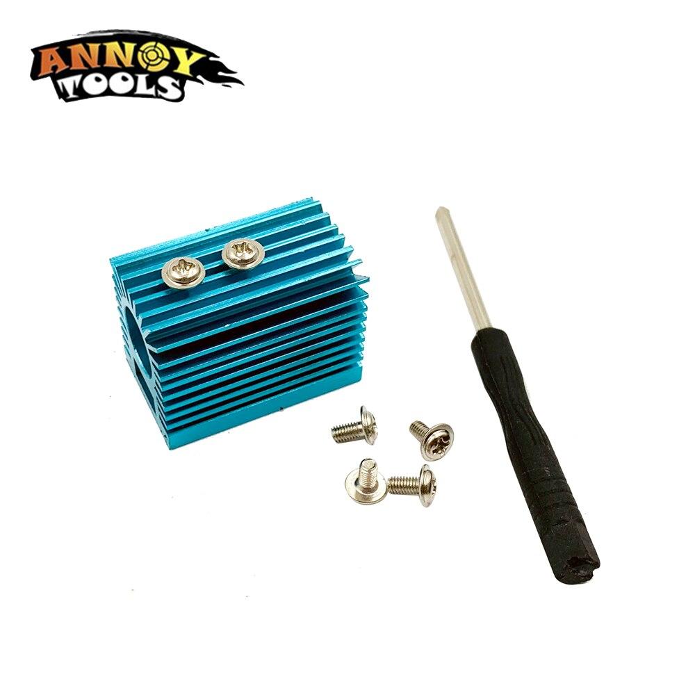12mm Laser Module Heat Sink Holder Mount Cooling Heat Sink CNC Parts