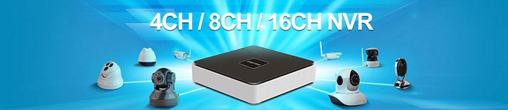 CCTV P2P Cloud 1080P NVR Recorder
