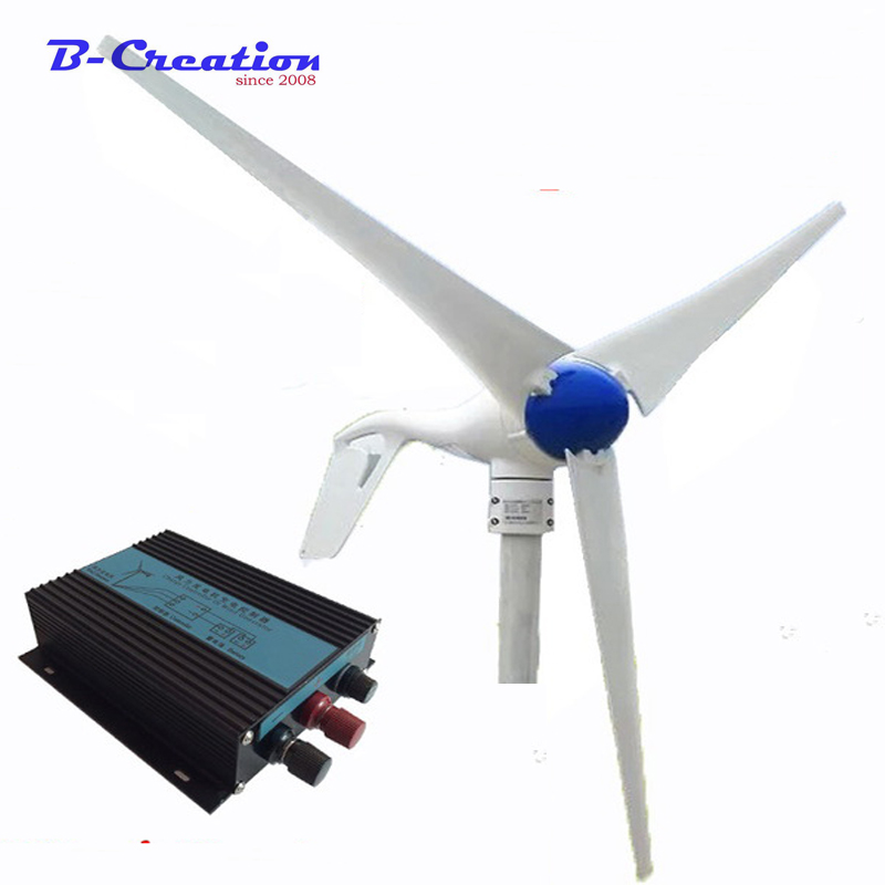 Generador Eolico Gerador De Energia Permanent Magnet Generator Rushed Wind Generator 12/24v 400w Home Use Windmill / On Sale