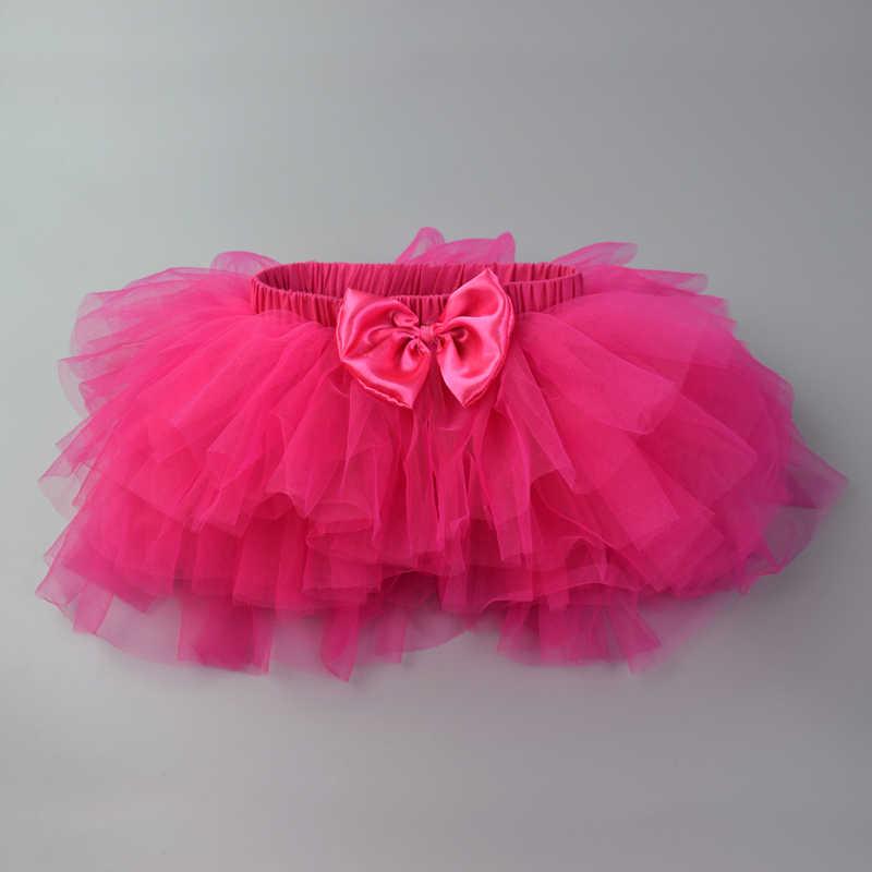 95dcf677e Bebé niñas faldas ropa de bebé Ballet de baile vestido de verano recién  nacido princesa arco Chiffon minifalda regalos de cumpleaños