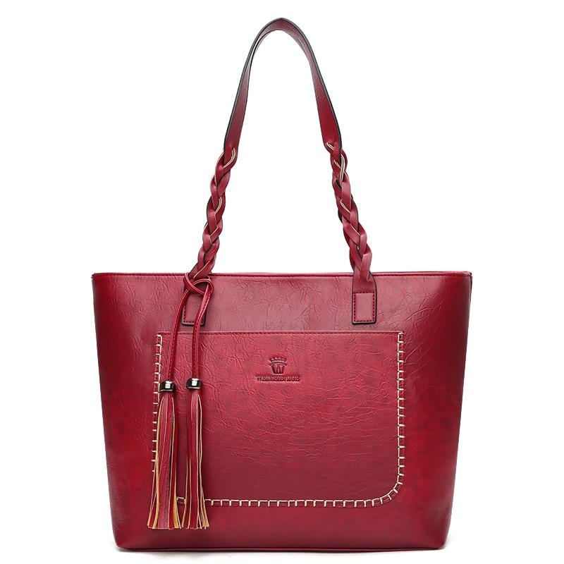 a22f51eeceb Bolsos de mensajero de mujeres griegas conocidos con borla de gran  capacidad bolsos de mano de mujer bolsos de hombro diseñadores famosos  bolsos de cuero de ...
