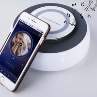 NILLKIN NFC Bluetooth Stereo Speaker home soft music Blues music bass USB 2.0 Charging Audio Dock Station for xiaomi for iPhone