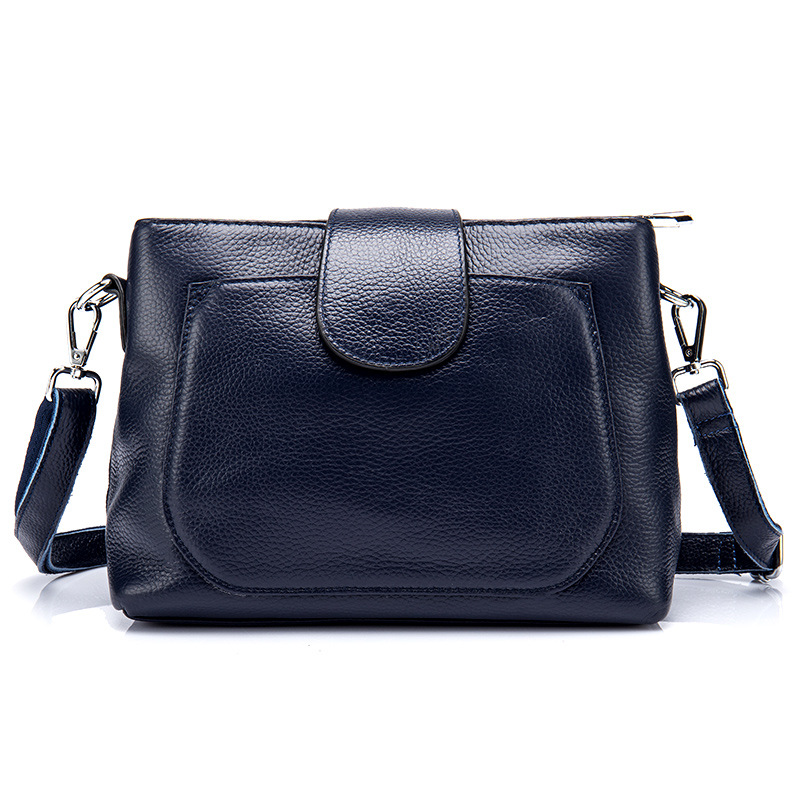 New women genuine leather handbags shoulder Messenger bag fashion flap bags women first layer of leather crossbody bags