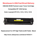 125A CB540A CB541A CB542A CB543A Серии Для Hp Color Laserjet Cp1215, 1312,1515, 1518