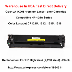 CB540A CB541A CB542A CB543A 125A Série Pour Hp Color Laserjet Cp1215, 1312,1515, 1518