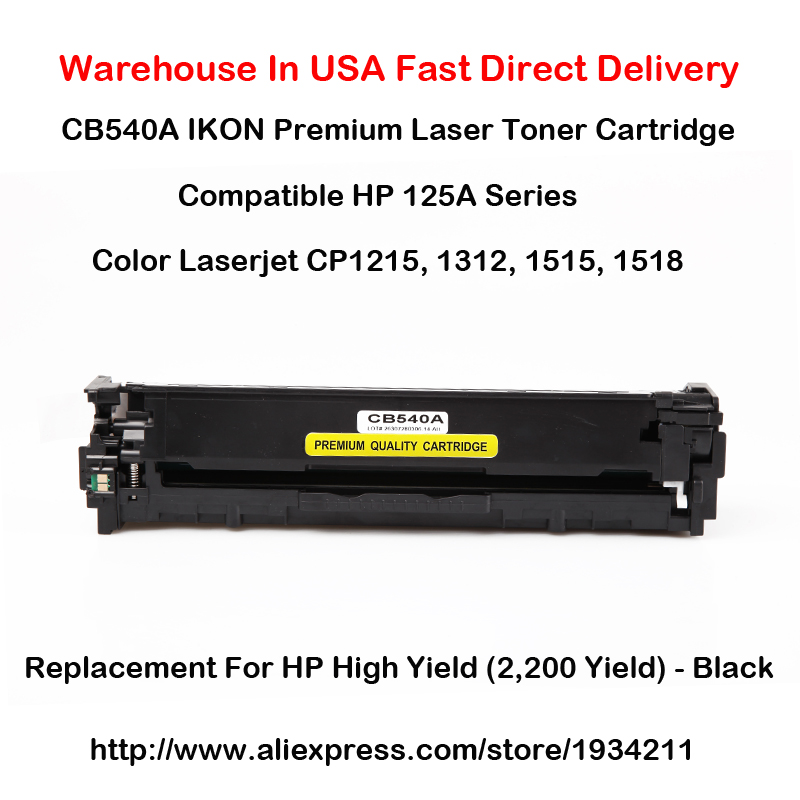 CB540A CB541A CB542A CB543A 125A סדרה עבור HP Color LaserJet - אלקטרוניקה במשרד