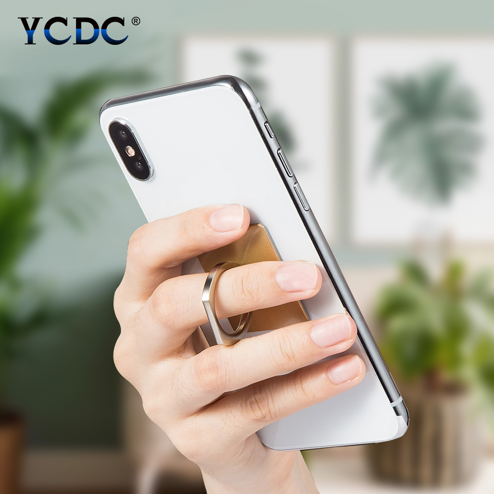 Ständer Trendmarkierung Universal Cartoon 360 Grad Finger Ring Handy Smartphone Ständer Halter Für Iphone X 8 7 Bär/rechteck Ring Haken Halterung Videospiele