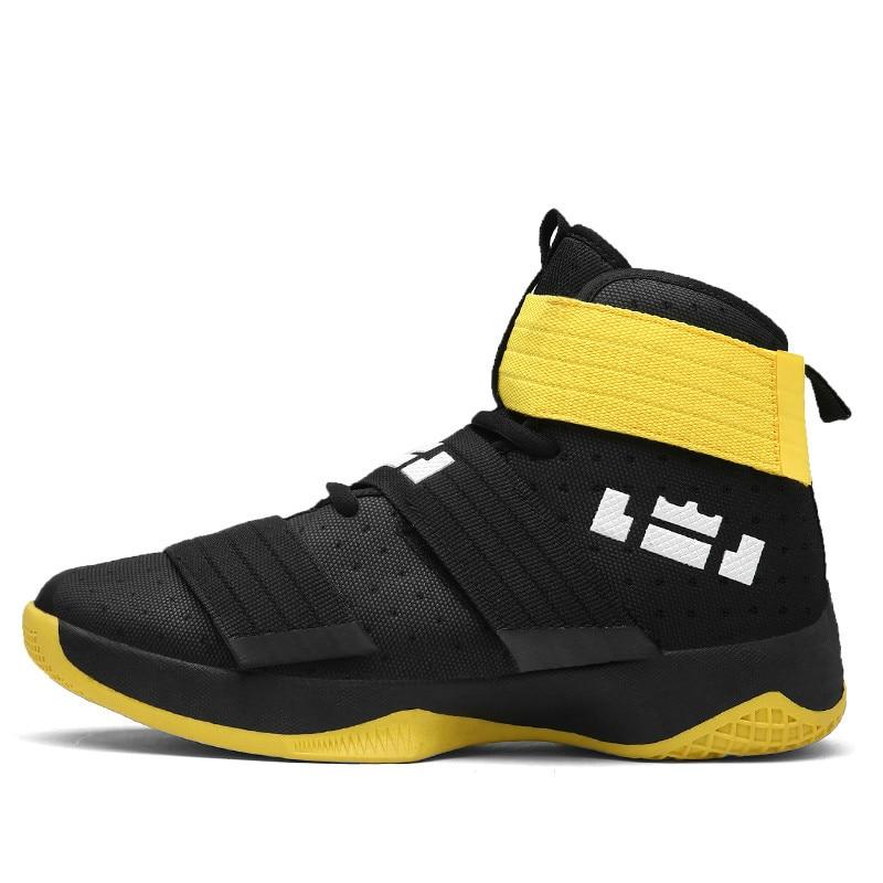 2018 Nouveau Automne basketball pour hommes Chaussures De Sport Pour Hommes Baskets Montantes Lebron Respirant Formateurs Hommes En Plein Air Rétro Jordanie