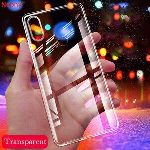Ultra slim Silicone Soft Transparent Phone Case For huawei P8 P9 Lite 2017 P10 Plus P20 P30 Pro Mate 8 9 10 20 20X P smart Cover(China)