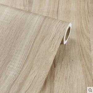 Image 4 - 木目ステッカーワードローブキャビネットテーブル家具リフォームステッカー壁紙自己粘着 pvc 防水ステッカー