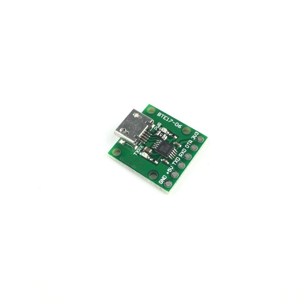 60.2руб. 5% СКИДКА|CH340E MSOP10 USB к TTL модуль может быть использован в качестве PRO мини загрузчика|Интегральные схемы| |  - AliExpress