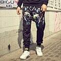 3XL 4XL 5XL 6XL de gran tamaño Para Hombre Pantalones Harem Flojo Ocasional de Hip Hop Pantalones Deportivos 2016 de Otoño Invierno de Los Hombres Pantalones de Chándal 1048 pant