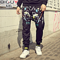 Oversized Mens Harem Pants 3XL 4XL 5XL 6XL Casual Loose Hip Hop Sweatpants 2016 Autumn Winter Men Sweat Pants 1048pant