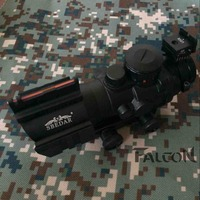 High Quality Tactical Hunting Shooting Trijicon ACOG 4X32 Rifle Scope Paragraph Color 20MM Rail MOUNTS