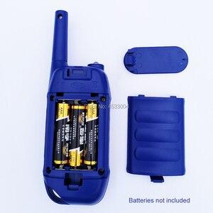 Image 2 - 2 pçs crianças walkie talkie crianças brinquedo two way rádio de longo alcance handheld crianças brinquedo walky talky para crianças