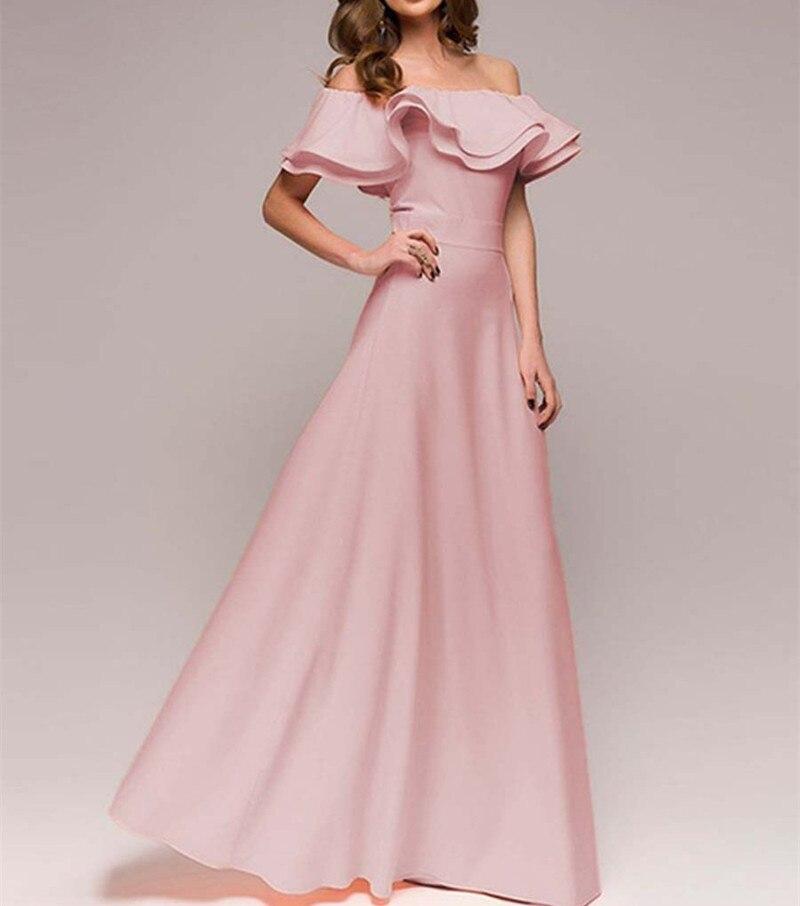 3db416ea477a Vestidos De Festa Das Mulheres Elegante Vestido de Noite Longo Vestidos de  Festa Bola Prom Maxi