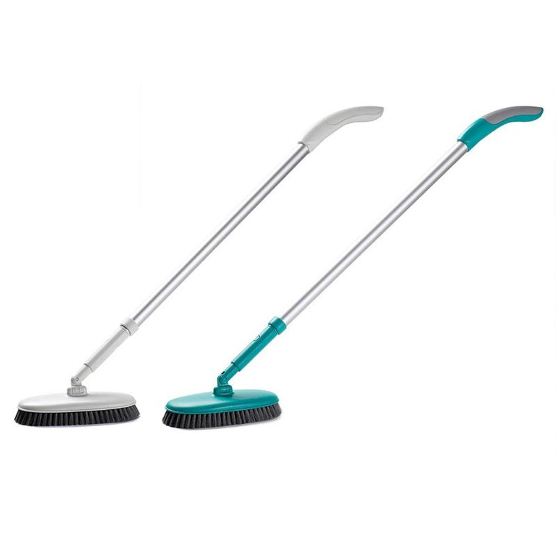 Rotary Retractable Floor Brush Kitchen Bathroom Bristles