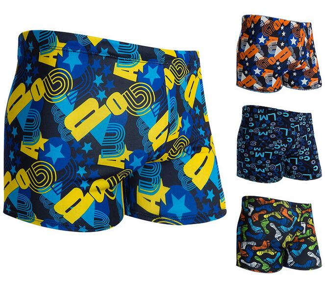 Wholesale High quality Colorful Breathable quick dry Men's swimming trunks