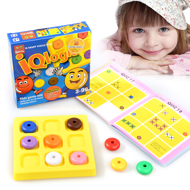 Hot Kids 3D Puzzle IQ Brain Teaser Educational Game Toys for Children Adults 6