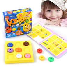 Classic Creative Puzzle Mind Brain Teaser Kids Logic Educational Puzzles Game Toys for Children Adults
