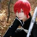 Anime Assassination Classroom Karma Akabane Red Short Cosplay Wig