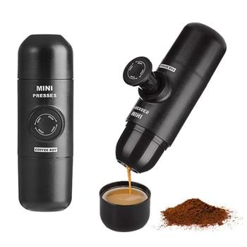Coffee Boy Portable Espresso Machine Handheld Mini Italian Press Mini presso Black