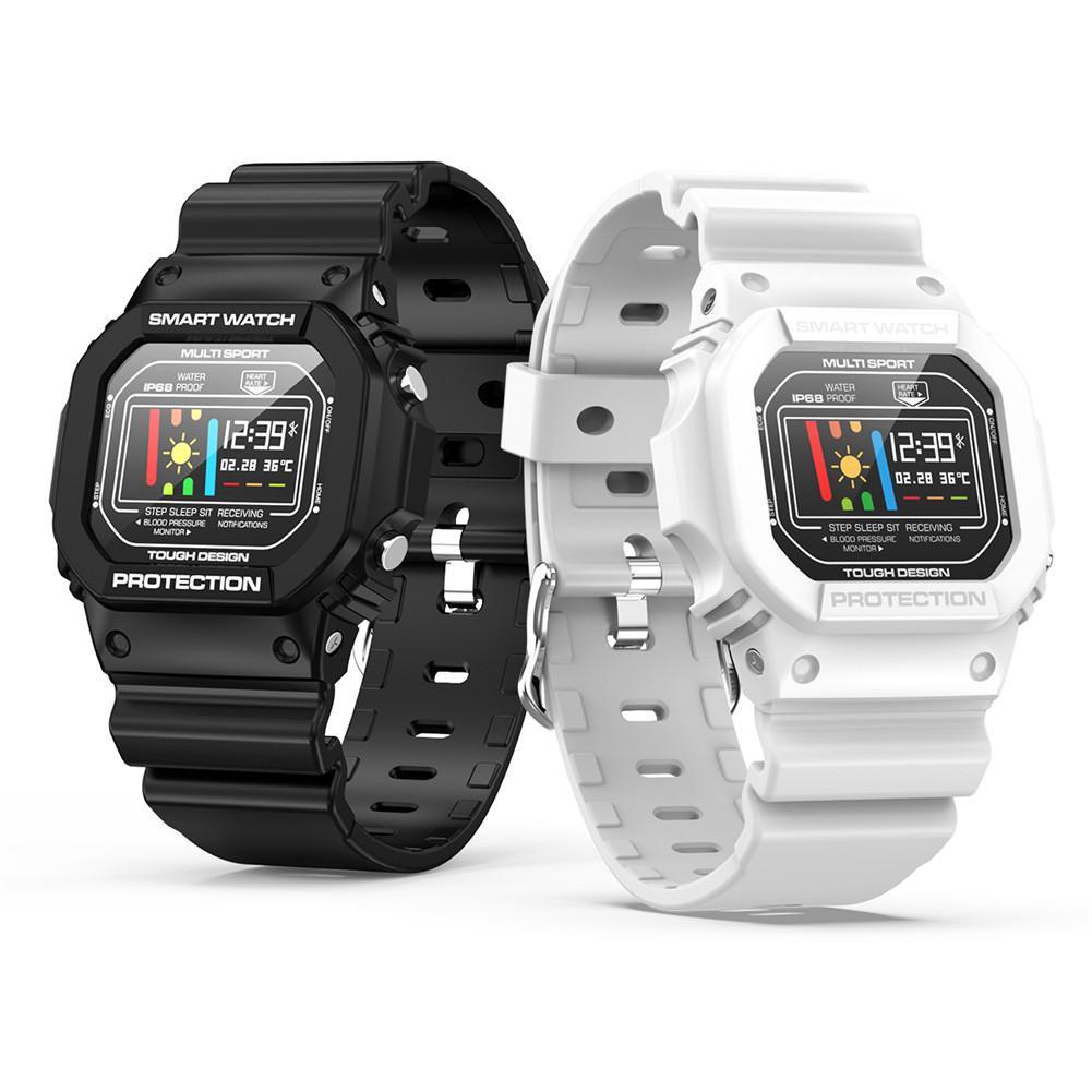 ECG + PPG X12 Ip68 Aptidão Esporte Relógios À Prova D' Água Relógio Inteligente Para Ios Android Monitor de Freqüência Cardíaca Pressão Arterial Smartwatch