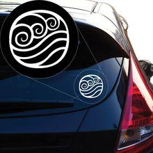 Letzter Airbender Water Decal Sticker für Autofenster, Laptop und mehr