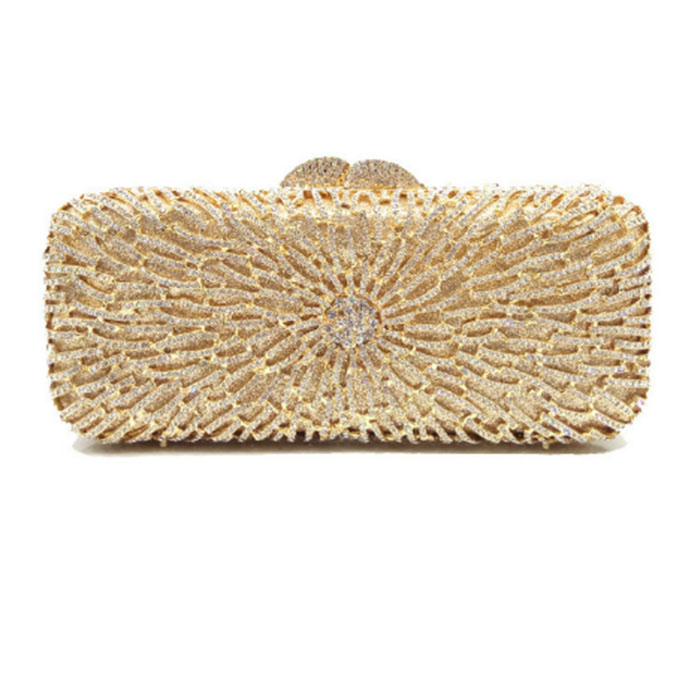 Women gold/silver Evening Bags Ladies Wedding Party cocktail prom Clutch Bags Luxury Handbags Casual Crystal Diamonds Purses milisente women evening bags silver ladies wedding clutches bag gold luxury crystal party diamonds clutch