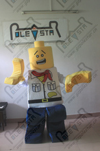 LEGO character mascot costume customized toy brick mascot costume for kids new game costumes