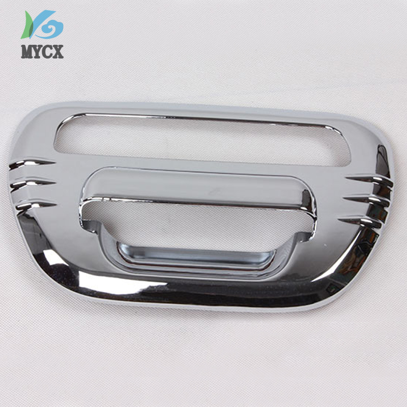 MITSUBISHI L200 TRITON ML MN CHROME TAILGATE HANDLE COVER FULL 1 PIECE 2005-2013