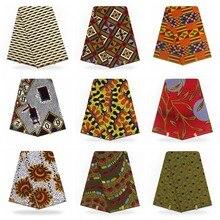 Новое поступление хлопок африканская восковая ткань настоящий голландский воск Африканский горячий настоящий воск для платьев 6 ярдов/шт