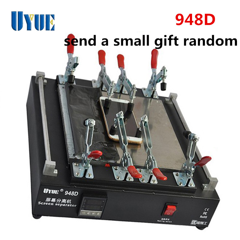 UYUE 948D Max 11 inch LCD Separator Machine Touch Screen Separator for iPad Mobile Phone Repair Assembly Disassembly new arrival hydrogen generator hydrogen rich water machine hydrogen generating maker water filters ionizer 2 0l 100 240v 5w hot