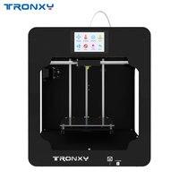 Tronxy impressora 3d c2 metal completo 3.5 polegada tela sensível ao toque 3d impressora de alta precisão 3d drucker impressiona peças navio da alemanha