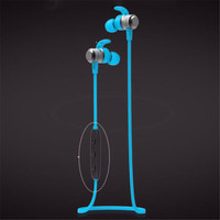 APTX HD Hands Free Metal Headphone Magnetic Earphones Bluetooth Grip Sports Android Headset In The Ear