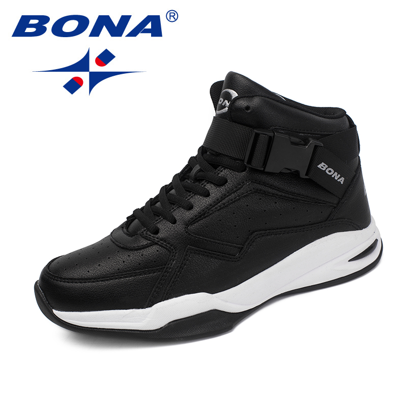BONA New Classics Style Men Basketball Shoes Lace Up Men Athletic Shoes Outdoor Jogging Shoes Comfortable