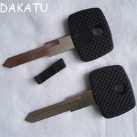 DAKATU HU72 Transponder Sleutel Shell Voor Mercedes-Benz Vito Actros Sprinter V Klasse Vervanging Autosleutel shell case MET LOGO