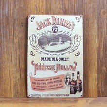 Jack Daniel's Style Decor Sign