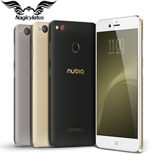 Original ZTE Nubia Z11 miniS mini S 4G LTE 5.2 inch Octa Core 2.0GHz 4GB 64GB 1920X1080 Dual SIM 23.0MP Fingerprint Mobile Phone