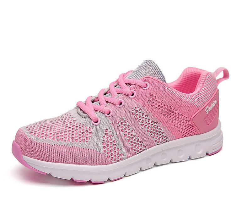 a907e6e7f5 Novas mulheres tênis de corrida das mulheres das sapatilhas Das Mulheres  flywire Ao Ar Livre esportes Sapatos de Fitness Da Senhora Primavera  Summmer ...