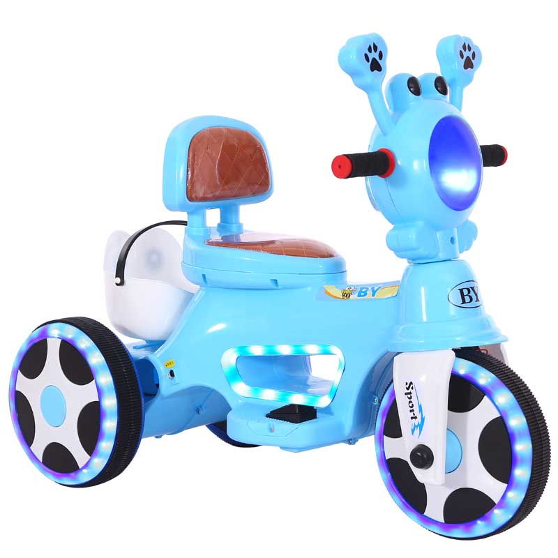 Kids Ride On Cars Electric Children's Electric Motorcycle Tricycle 1-5 Years Old Charging Boys And Girls Baby Toy Car Can Sit