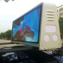 3G/WI-FI Управление 960*320 мм две стороны IP65 P5 такси крыши Видео LED Дисплей такси с подсветкой знак автомобиля с подсветкой Экран кабины верхний светодиодный Sinage