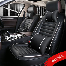 цена на 2019 New PU Leather car seat covers For Honda CRV XRV Odyssey City crosstour CRIDER VEZEL Accord Auto Car Water-Proof Protector