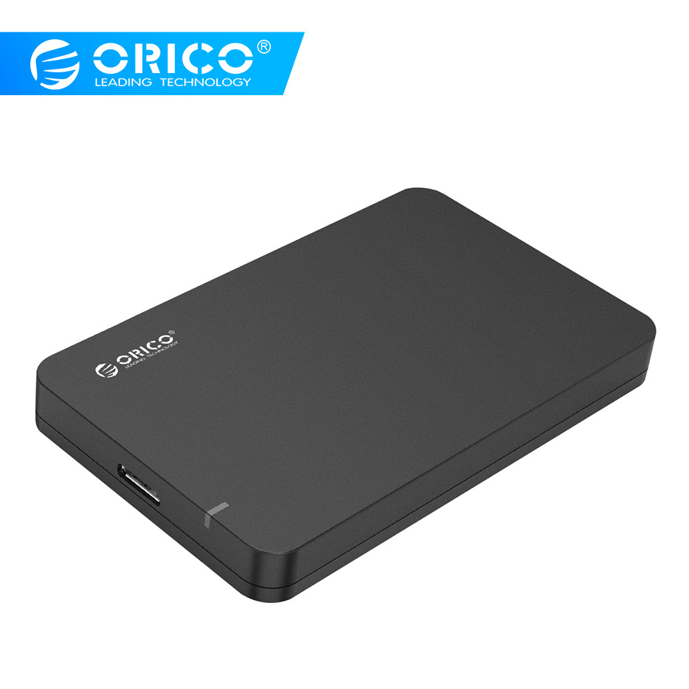 ORICO 2569S3 2.5 Inch External Hard Drive Enclosure USB 3.0 Tool Free  For SATA HDD And SSD (Not Include Hard Drive)- Black