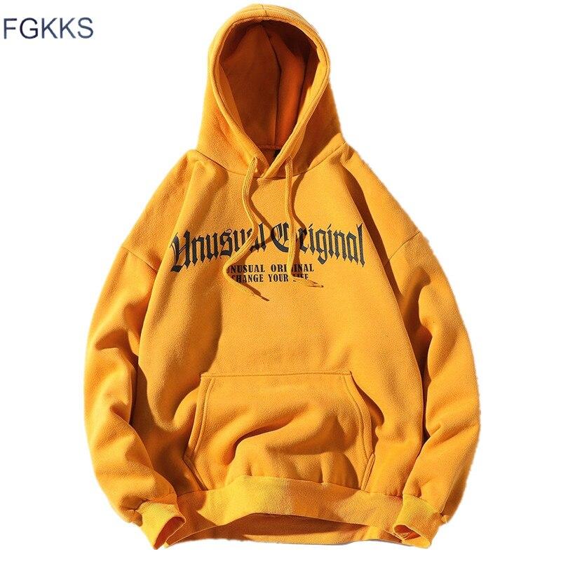 FGKKS Fashion Brand Men Hoodie 2019 Autumn Mens Harajuku Hoodie Sweatshirts Male Printing Hoodies Sweatshirt Streetwear Men Top