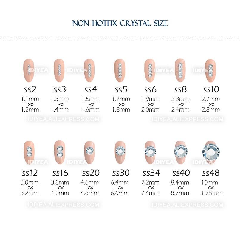 Prozirne mješavine SS3-SS10 SS4-SS30 kristali za ukrašavanje - Umjetnost, obrt i šivanje - Foto 5