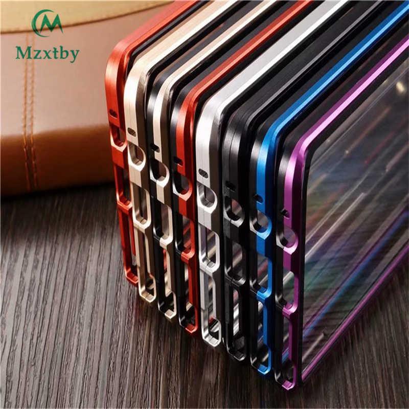 Mzxtby Magnetic Caso Frente + Voltar Double-side 9H Temperado Caixa De Vidro 360 Graus Completo Caso À Prova de Choque Para samsung S9 S8 S10 Plus