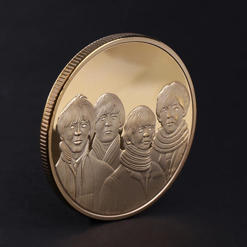 Commemorative Coin Countryside Band Famous Singer Collection Arts Gifts Souvenir